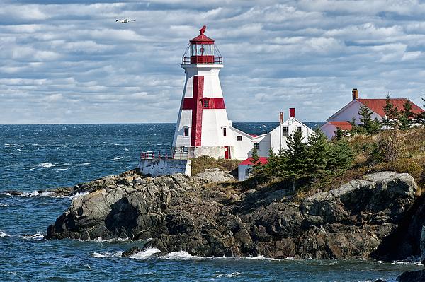 Campobello Island Photograph - East Quoddy Lighthouse by John Greim