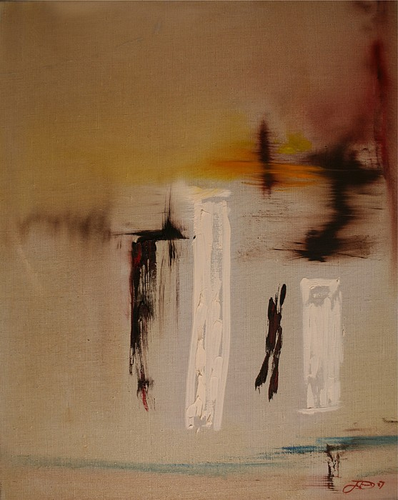 Abstract Painting - Easy by Jack Diamond