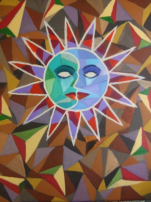Acrylics Painting - Eclypse Series Xvi by Jubamo