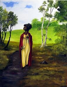 Eden Painting by Pamela Benjamin