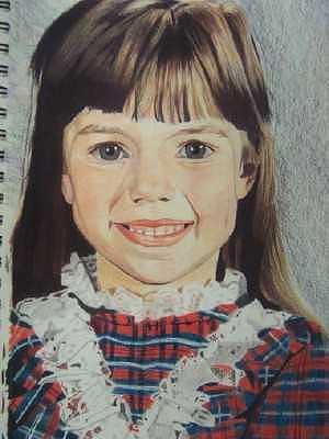 Portrait Drawing - Eden by Sherri Ward