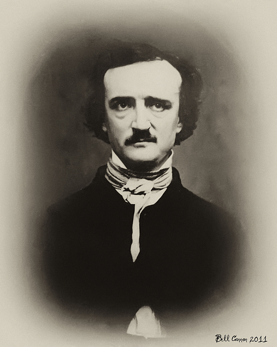 Edgar Allen Poe Photograph - Edgar Allen Poe by Bill Cannon