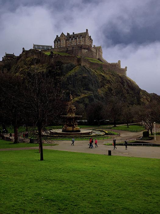 British Photograph - Edinburgh Castle by Artistic Photos