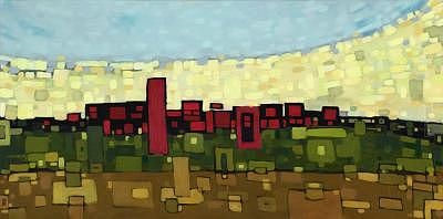 Edmonton Painting by Ben Mitchell