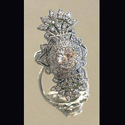 Edwardian Wedding Ring Jewelry by Michelle  Robison