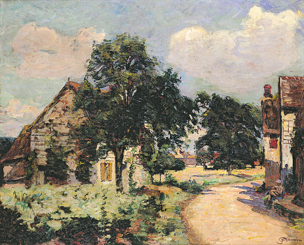 Effect Painting - Effect Of The Sun by Jean Baptiste Armand Guillaumin