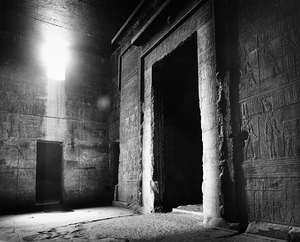 African Photograph - Egypt: Dendera: Temple by Granger