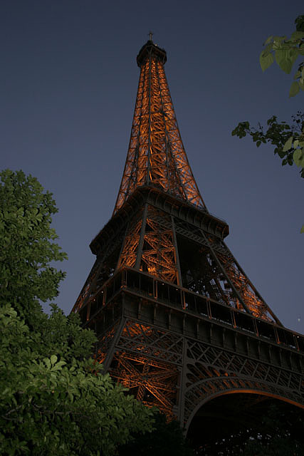Eiffel Tower Photograph - Eiffel Tower Come To Life by Melissa Frazier