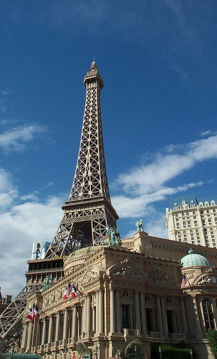 Eiffel Photograph - Eiffel Tower Las Vegas Nevada by Alan Espasandin