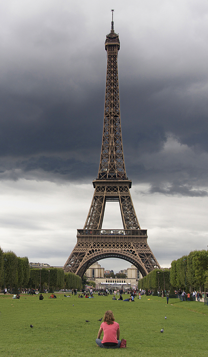 Paris Photograph - Eiffel Tower. Paris by Bernard Jaubert