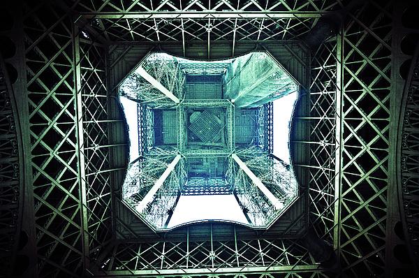 Horizontal Photograph - Eiffel Tower Paris by Fabien Astre