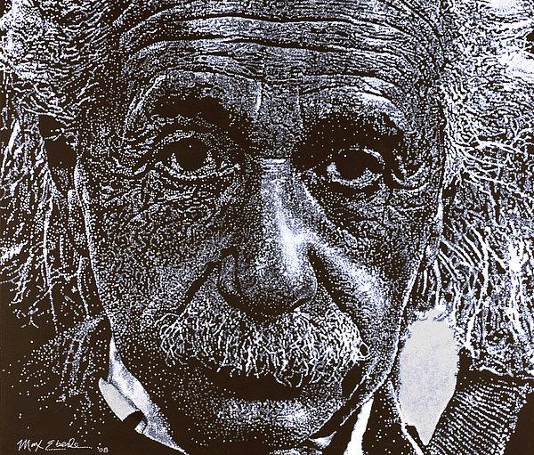 Einstein Painting - Einstein by Max Eberle