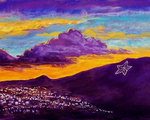 El Paso Star Pastel - El Pasos Star by Candy Mayer