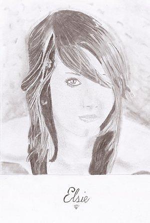 Elsie Drawing by Robbie Johnston
