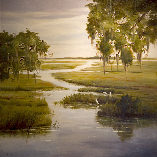 Landscape Painting - Embrace The Solitude by Glenda Cason