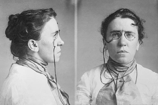 History Photograph - Emma Goldman 1869-1940 Mugshots. She by Everett