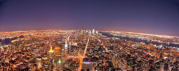 Horizontal Photograph - Empire State Building 86th Floor Observatory by James DiBianco Jr