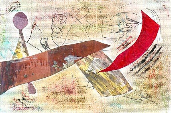 En El Bar Painting by Emilio B Campo- Diaz
