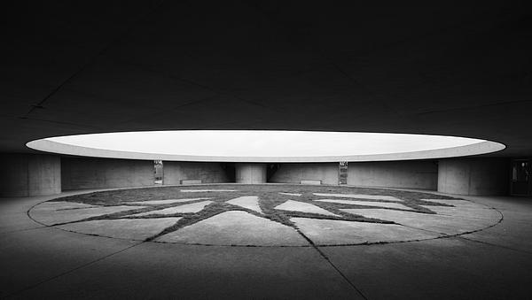 Architecture Photograph - Enclosure by Deividas Kavoliunas