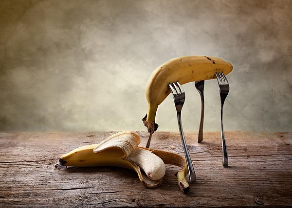 Banana Photograph - Encounter by Nailia Schwarz