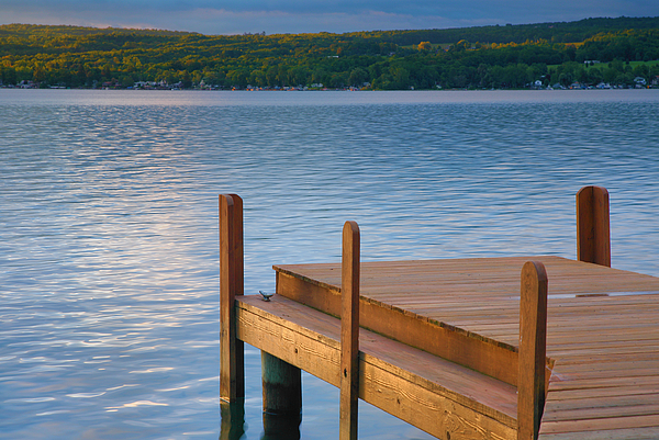 Lake Photograph - End Of Summer IIi by Steven Ainsworth