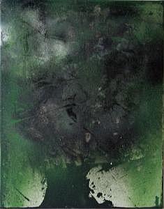 Tree Painting - Enfin Un Arbre Sur Titan 2005 by Annick Gauvreau