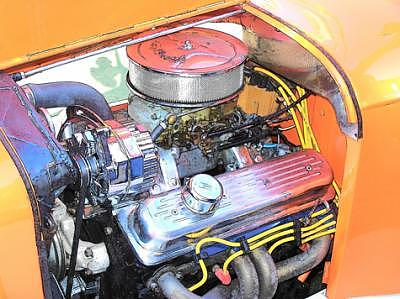 Hot Rod Engine Photograph - Engine 2 by Barbara Love Newport