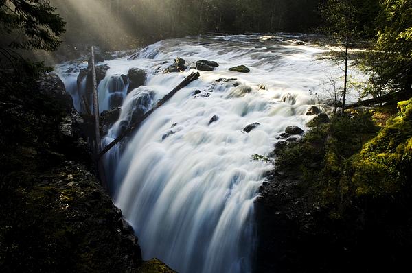 Waterfalls Photograph - Englishman Falls by Bob Christopher