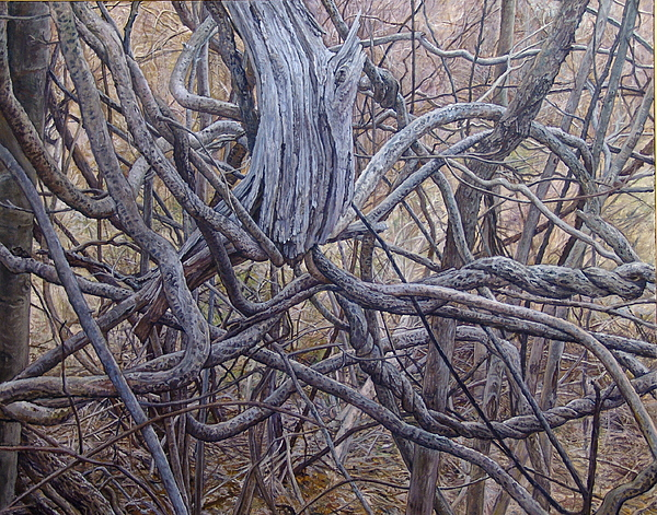 Entanglements Painting by James Sparks
