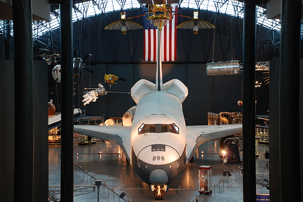 Nasa Photographs Photograph - Enterprise Space Shuttle by Renee Holder