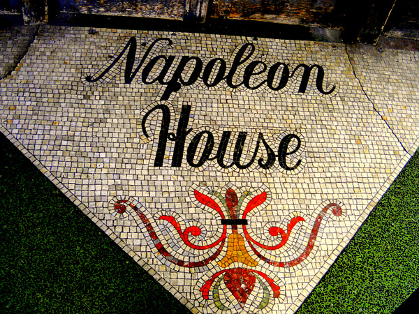 Entrance Mosaic Napoleon House Photograph by Ted Hebbler