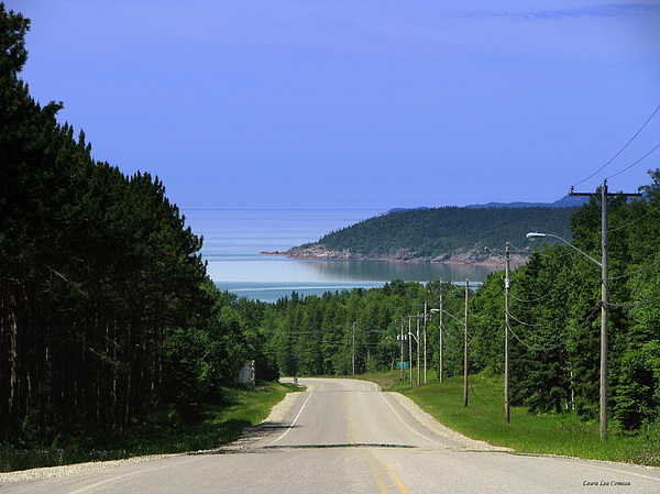 Marathon Photograph - Entrance To The Town Of Marathon Ontario by Laura Wergin Comeau