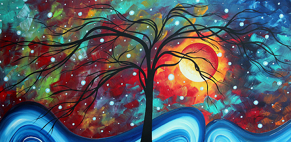 Original Painting - Envision The Beauty By Madart by Megan Duncanson