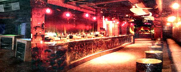 Bar Sculpture - Envy Nightclub Detroit by Don Thibodeaux