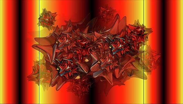 Ephemeral Digital Art by Ron Bissett