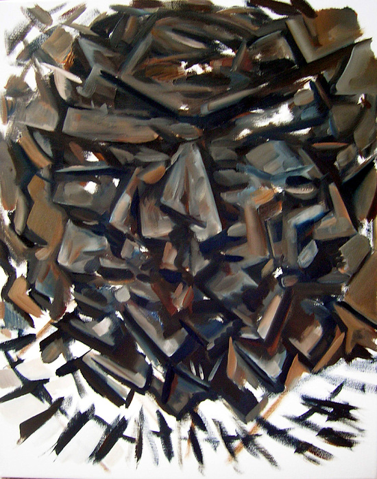 Epistrophy Process One Painting by Martel Chapman