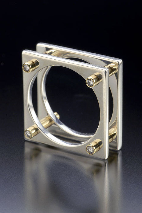 Wedding Ring Jewelry - Equality Joined by Ivan Sagel