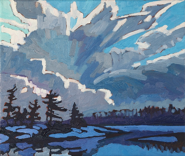 1905 Painting - Equinox Cold Front by Phil Chadwick