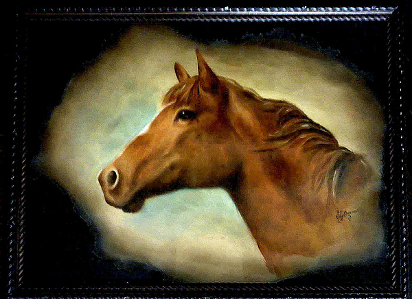 Equus Painting by Mary Brown