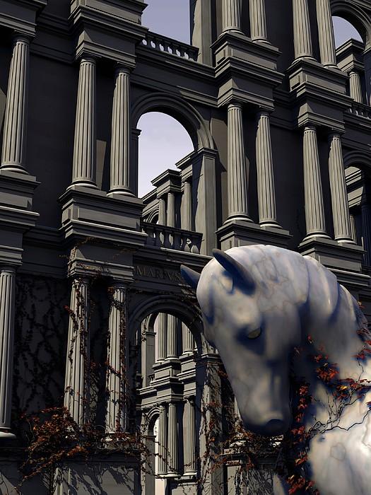 Horse Digital Art - Eqvvs Iv by Mariusz Loszakiewicz