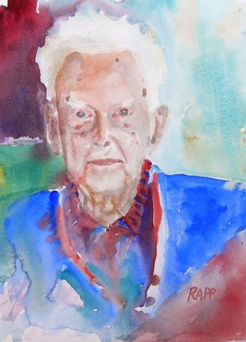 Old Painting - Erik by Jan Rapp
