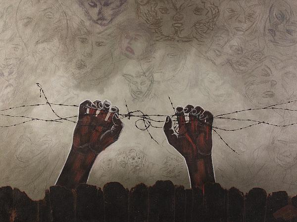Hand Mixed Media - Escape Da Obscuridade by Arnuda