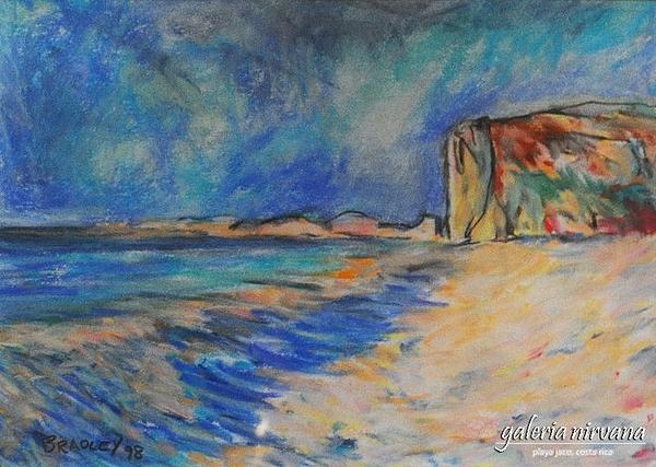 Costa Rica Painting - Escondita  98 by Bradley Bishko
