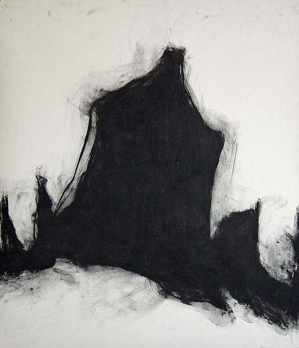 Abstract Expresionism Drawing - Estuary 56 by Doug Kinsey