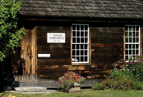 Photograph Photograph - Eureka Schoolhouse by Lois Lepisto