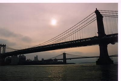 Evening Bridge Nyc Photograph by Phil Kunin