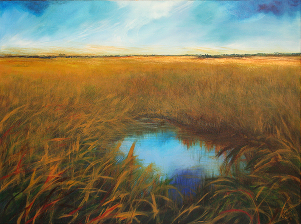 Florida Painting - Everglades by Michele Hollister - for Nancy Asbell