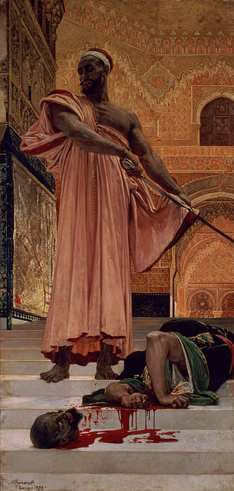 Execution Painting - Execution Without Trial Under The Moorish Kings In Granada by Henri Alexandre Georges Regnault