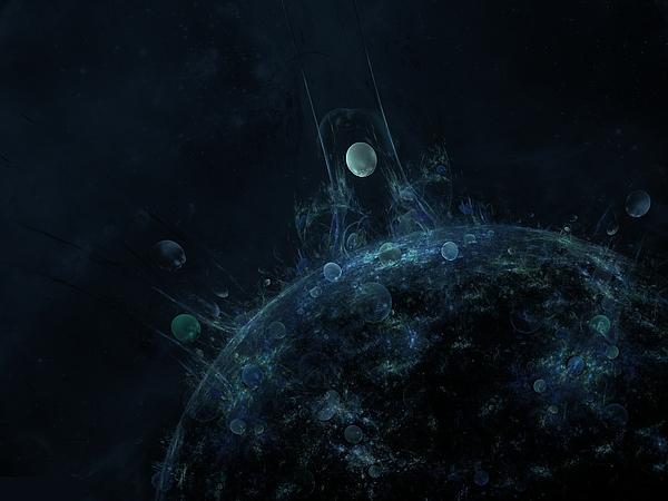 Planet Digital Art - Explore The Depths by Talasan Nicholson