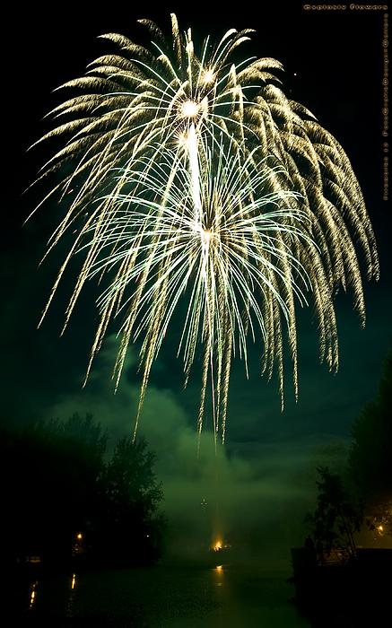Fireworks Photograph - Explosive Flowers 12 by Heinz - Juergen Oellers